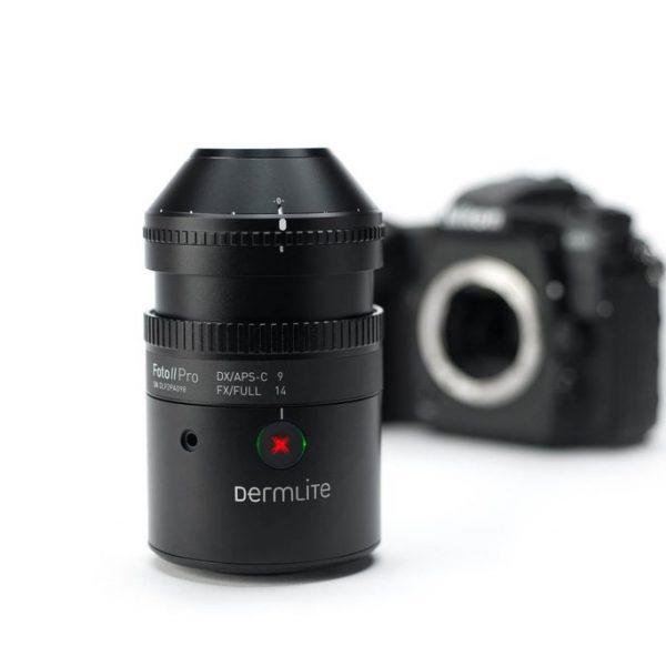Dermatoscopio para uso fotográfico DermLite Foto II Pro