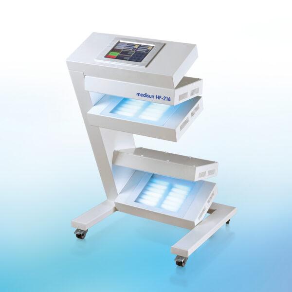 Fototerapia manos y pies UVA con pantalla táctil Medisun