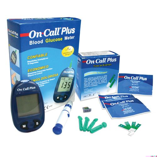 Kit Monitor de Glucosa y accesorios On Call Plus GIMA