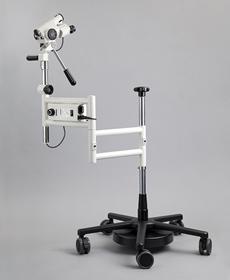 Colposcopio 15X con regulacion altura y enfoque y estativo articulado Leisegang