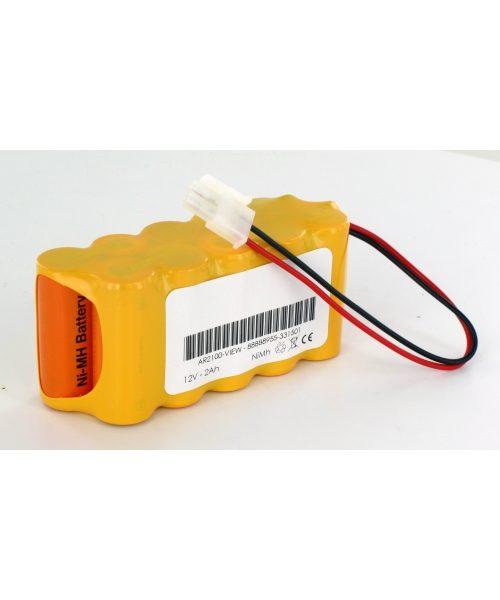 Batería compatible CARDIOLINE para ECG AR2100