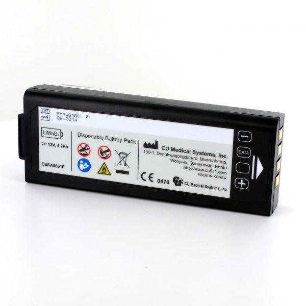 Batería Desechable para Desfibrilador Externo Semiautomático Cu Medical Systems