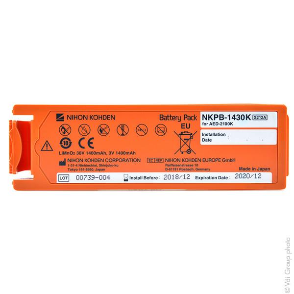 Batería original NIHON KOHDEN AED 2100