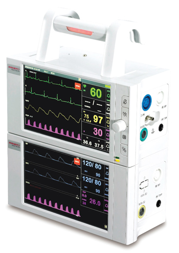 Monitor de Paciente Multiparamétrico PRIZM 7 Modular Portátil