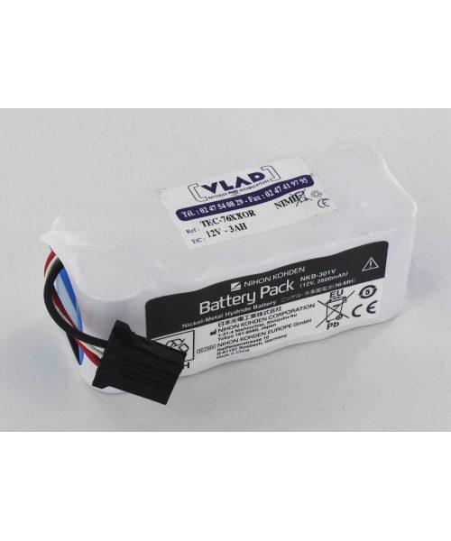 Batería original Nihon Kohden para ECG Cardiolife ECG1350
