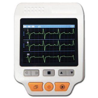Electrocardiógrafo ECG 3 canales