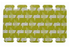 Electrodo ECG desechable 23x34mm Lengüeta