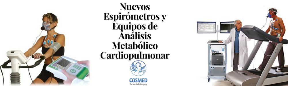 espirómetros y equipos de análisis metabolico cardiopulmonar