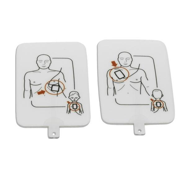 Electrodos de Desfibrilador de entrenamiento Ultratrainer PRESTAN