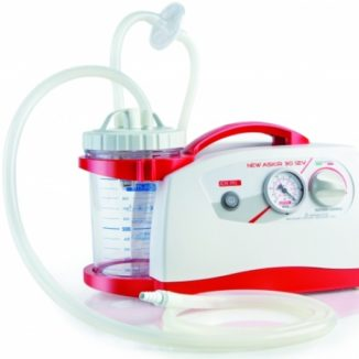 Aspirador Secreciones Emergencias New ASKIR 30 12V 1000 ML Batería Recargable