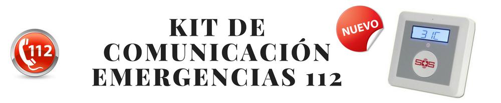 KIT DE COMUNICACIÓN EMERGENCIAS 112