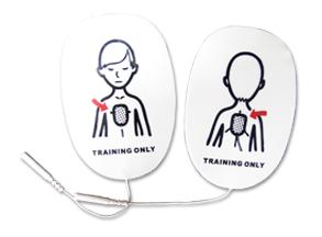 Par de electrodos pediátrico para desfibrilador entrenamiento Con Múltiples Escenarios (copia)